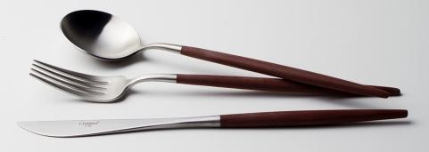 Cutipol Goa Brown, modern cutlery made in Portugal